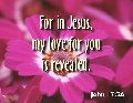 In Jesus Love Revealed